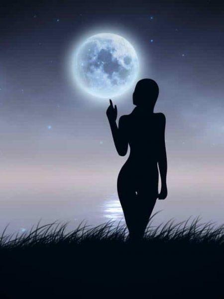 11 מרכזי הירח בגוך האישה